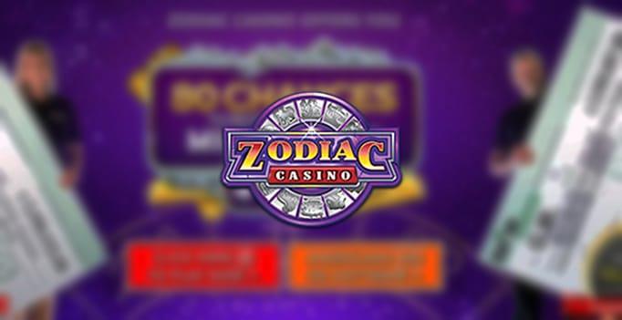 Zodiac Casino - 80 chances, $20 Welcome Bonus - SpicyCasinos