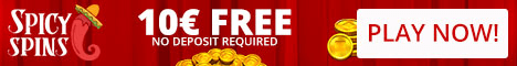 Spicyspins Casino 10 EUR No Deposit