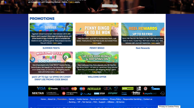 cloud casino screenshot