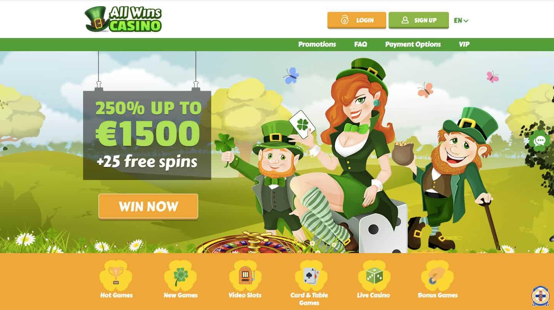 all wins casino screenshot
