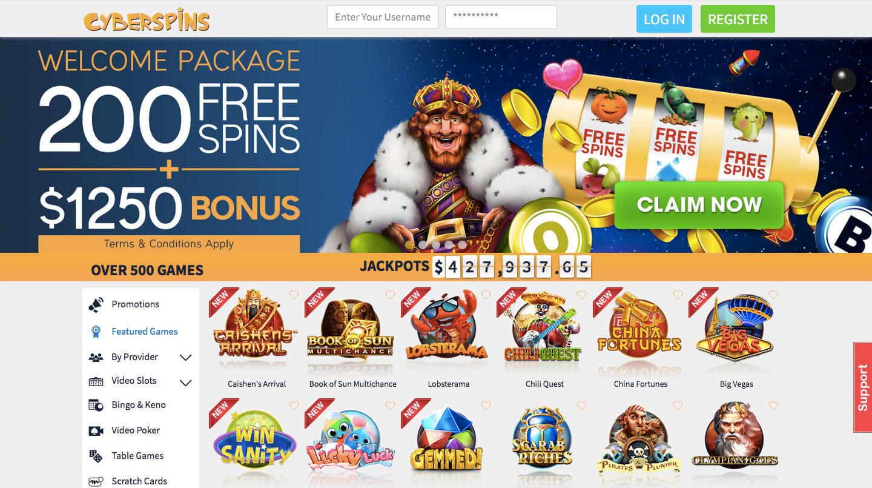 Cyber Spins Casino