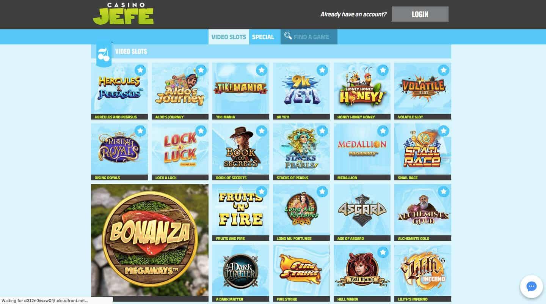 casino jefe screenshot
