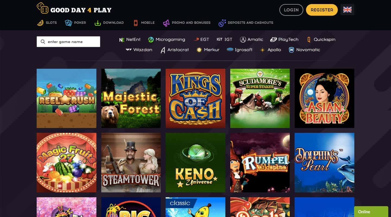 good day for play casino screenshot