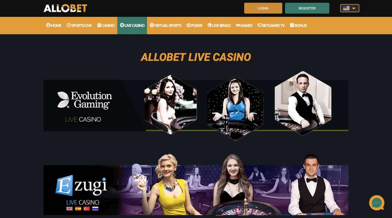 allobet casino screenshot