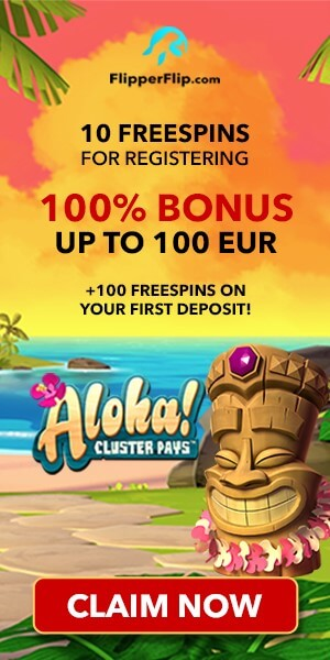 FlipperFlip 10 Free Spins No Deposit