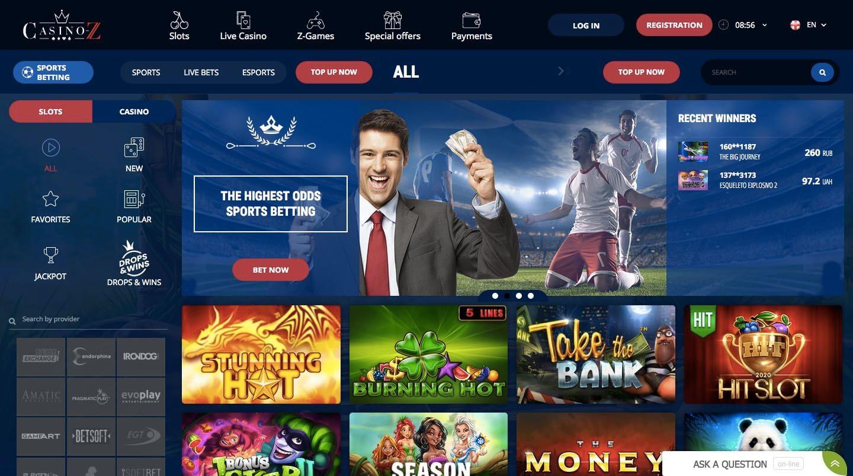 casino-Z screenshot