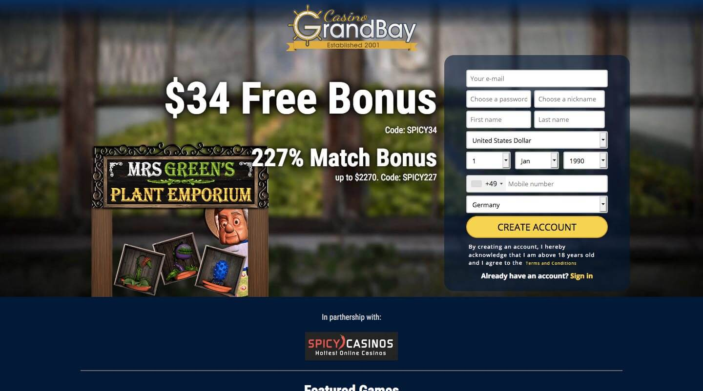 Grand Bay Casino 2020 Review Spicycasinos Rating 2 0 Out Of 5